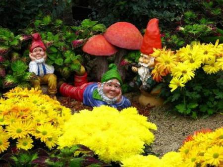 Садовые фигурки фото